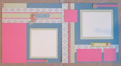 Happy Chantilly Is Featured March Workshop 12x12 Scrapbook, Scrapbook Sketches, Scrapbook Page Layouts, Digital Scrapbooking, Scrapbooking Ideas, Photo Layouts, Layout Inspiration, Close To My Heart, New Product