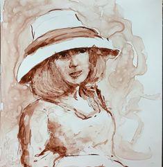 Irene Schwarz, Artist Irene, Portraits, Artist, Fictional Characters, Head Shots, Artists, Portrait Photography, Fantasy Characters, Portrait Paintings
