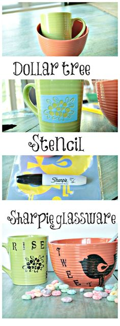 I love this, great gift for anyone or any event! diy #sharpie art work on glassware