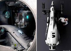 Dark Roasted Blend: Cosmic Motors Concept Art by Daniel Simon