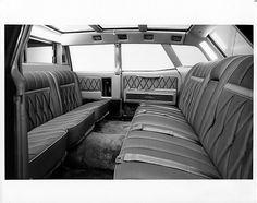 1969 Lincoln Continental Presidential Limousine Interior