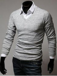 Long Sleeve T Shirts For Men | Cheap Best Mens Long sleeve Tshirts On Sale Online At Wholesale prices | Sammydress.com Page 3