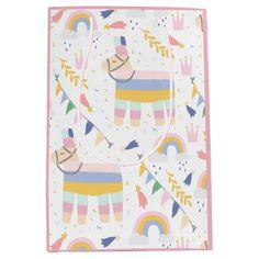 Shop Cute Boy's Llama Rainbow Birthday Party Medium Gift Bag created by ItsaBaby. Rainbow Birthday Party, Rainbow Theme, Rainbow Baby, Birthday Parties, Baby Shower Gift Bags, Party Gift Bags, Baby Boy Shower, Llama Birthday, Baby Girl Birthday