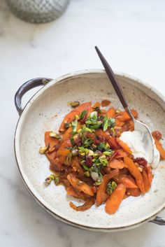 diana henry's uzbeki carrots on 101 cookbooks.