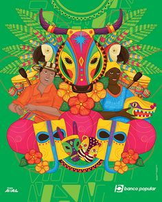 Samba, Bolivia, Congo, African Art, Folklore, Sarah Kay, Celebrations, Projects, Painting