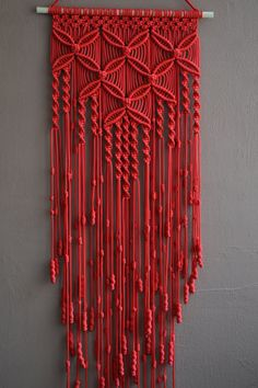 Etsy の Home Decorative Macrame Wall Hanging by Mrcolmar