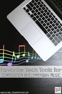 One of the best things to come out of this pandemic is the technology infrastructure that we've been forced to put in place. And one of the most powerful ways I've been able to incorporate the new one-to-one devices my students have into my lessons is composition. Today I want to share my 3 favorite tools to use for composition in elementary music: all available free online with no accounts to set up and with the ability to save and share creations. Elementary Choir, Elementary Music Lessons, Vocal Lessons, Classroom Management Tips, Behavior Management, Music Classroom, Music Teachers, Classroom Setup, Teaching Music
