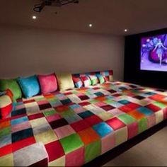 Kids Movie Game Room Ideas