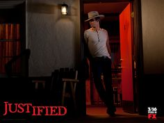 Justified.  Timothy Olyphant.