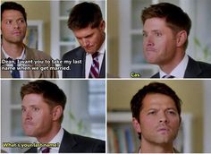 Cas, what's your last name?