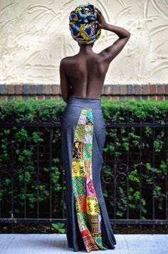 This Maxi Skirt is everything! #Africa ~Latest African Fashion, African Prints, African fashion styles, African clothing, Nigerian style, Ghanaian fashion, African women dresses, African Bags, African shoes, Nigerian fashion, Ankara, Kitenge, Aso okè, Kenté, brocade. ~DKK