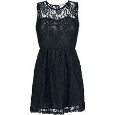 """Hübsches Kleid aus weicher floraler Spitze, mit blickdichtem Unterkleid aus 100% Polyester. L: ca. 92 cm Unser Model Kerstin ist 178 cm groß und trägt Größe S. Verdammt Sexy wird's mit dem schwarzen """"Belle"""" Kleid von Innocent. Das Kleid besteht aus floraler Spitze und einem blickdichtem Unterkleid - absoluter Hingucker. Das Kleid ist ca. 92 cm lang."""