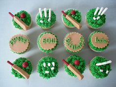 Cricket Cupcakes for Nikki in October
