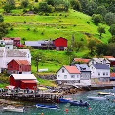 Naeroyfjordm, Norway via @jdmiller83