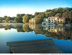 Reston, VA was chosen as the 7th best place to live in America by Money Magazine! Very cool!