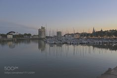"""Sunset at La Rochelle Go to http://iBoatCity.com and use code PINTEREST for free shipping on your first order! (Lower 48 USA Only). Sign up for our email newsletter to get your free guide: """"Boat Buyer's Guide for Beginners."""""""