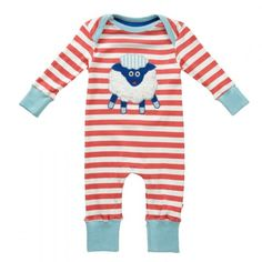 Piccalilly Baa Lamb Applique Playsuit. Available at Wauwaa http://bit.ly/1ml6YZt #AutumnDays @wauwaauk