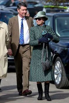 Princess Anne attended the 4th day of the Cheltenham Festival & Sir Tim