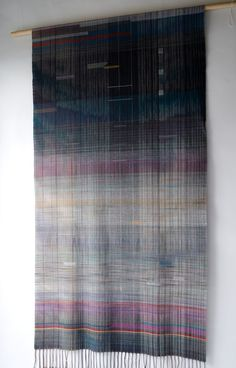Taro Hamano - Handwoven, Hand Dyed Extra Fine Merino Wool