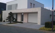 Villa, Bauhaus Travertin TRACO Naturstein