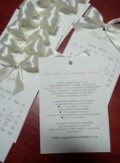 #wedding #weddinginvitatinon #calendar #bow #structuredpaper