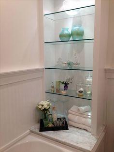 Etikaprojects.com   Do It Yourself Project · Glass ShelvesBathroom ShelvesModern  BathroomsSmall ...