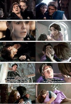 Further proof that Emma & Hook and Rapunzel & Flynn are the same
