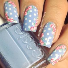 Fun and Flirty Floral Designs For Cute Nails This Summer ★ See more: https://naildesignsjournal.com/cute-nails-floral-designs/ #nails