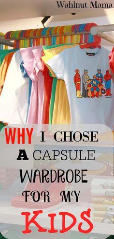 Capsule Wardrobe For Kids/FREE PRINTOUT!