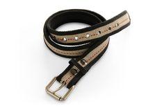 Gallo En Fuego Fire Hose Belt - Mens Black/Tan Medium Gallo En Fuego. $38.00