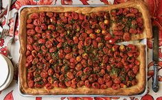 Herbed Tomato Tart Recipe Recipe | SAVEUR