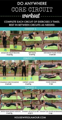 Do Anywhere Core Workout