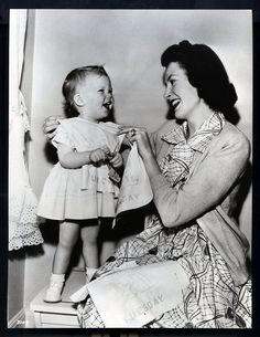 Deborah Kerr and daughter