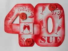 Handcut Big Birthday Commission - 40