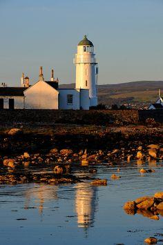 Reflection at Toward Point, Cowal peninsula, Scotland. Photo: Ian Cowe.