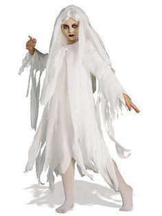 Child #ghostly #spirit fancy dress #costume halloween #ghost kids girls bn,  View more on the LINK: 	http://www.zeppy.io/product/gb/2/200981510379/