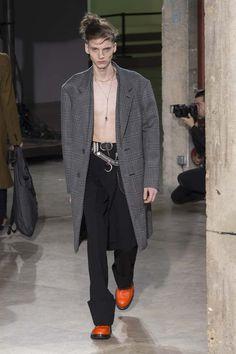 Male Fashion Trends: Lanvin Fall-Winter 2017 - Paris Fashion Week