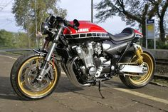 Check out several of my most favorite builds - stylish scrambler concepts like Yamaha Cafe Racer, Cafe Bike, Cafe Racer Build, Cafe Racer Motorcycle, Yamaha Xjr, Yamaha Bikes, Xjr 1300, Hardtail Mountain Bike, Cafe Racer Style