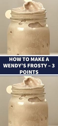 Delicious, low-cal drink I found on a forum for moments when you want chocolate. I will be drinking this even after I reach my goal. Our Homemade Wendys Frosty Recipe is the Weight Watchers Desserts, Weight Watcher Snacks, Weight Watchers Meal Plans, Weight Watchers Diet, Ww Desserts, Weight Watchers Fluff Recipe, Weight Watcher Points, Weight Watchers Shakes, Weight Watcher Smoothies