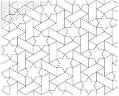 Geométrica - Desenho Geométrico - Padrões Geométricos Islamic Art Calligraphy, Cubism, Ribbon Embroidery, Geometric Art, Jeep, Flooring, Texture, Contemporary, Drawings