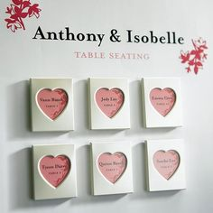 heart photo frame magnet  -Shop on WeddingWire! Mini Magnets, Photo Magnets, Wedding Welcome Bags, Unique Wedding Favors, Bridal Shower Favors, Party Favors, Small Picture Frames, Personalized Ribbon, Mini Heart