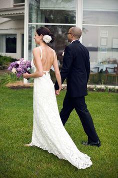 This may be the hottest wedding dress ever. (Jon Hamblin & Patrick Sablan)