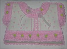 Pink Baby Sweater This was my first Baby Shower cake, They were extremely pleased with it. It is decorated with all buttercream icing. Buttercream Icing, Unique Cakes, First Baby, Baby Sweaters, Baby Shower Cakes, Cake Ideas, Babyshower, Pink, Decor