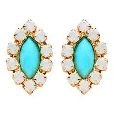 Vivienne Earrings Turquoise