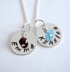 Personalized Jewelry  Two Names Necklace   by PatriciaAnnJewelry, $37.50