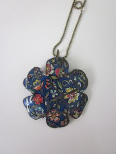 Tin Jewelry Flower Layered by TheMadCutter on Etsy, $25.00