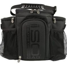 776a0bed6a30 Isobag 3 Meal Management System Blackout Edition-Isolator Fitness-Lunch  Bag Insulated Lunch Box The 3 meal Blackout Isobag by Isolator Fitness is  the ...