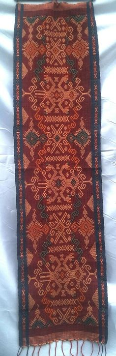 TRADITIONAL HANDWOVEN FROM NUSA TENGGARA