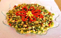 Nohutlu Mercimekli Gün Salatası Tarifi