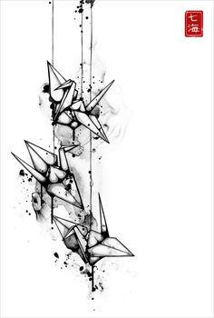 Les illustrations à l'encre de Nanami Cowdroy, une illustratrice d'origine européenne et japonaise basé en Australie. Entre encre et poésie, de magnifiques